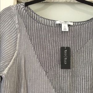 Grey Sweater from WHBM